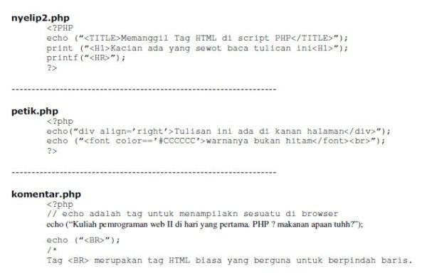 struktur-dasar-php